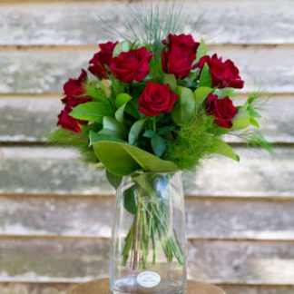 Red Rose Bouquet Woombye Florist