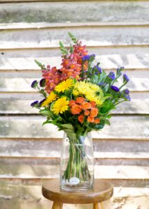 Bright Bouquet Flowers Woombye Florist