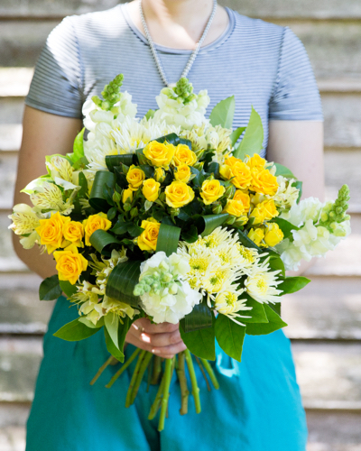 Sunshine Flower Bouquet Woombye Florist