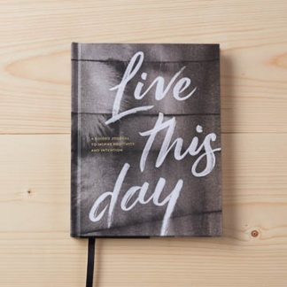 'LIVE THIS DAY'- GUIDED JOURNAL LIVE INSPIRED
