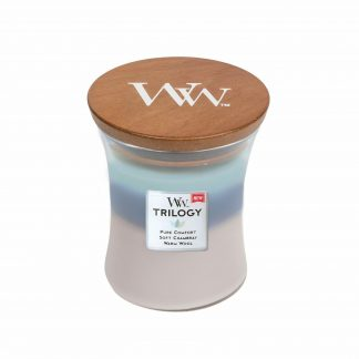 WOODWICK CANDLE - WOVEN COMFORTS TRILOGY