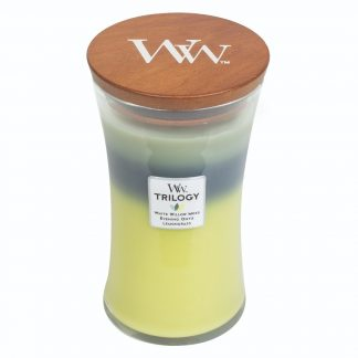 WOODWICK CANDLE - WOODLAND SHADE TRILOGY
