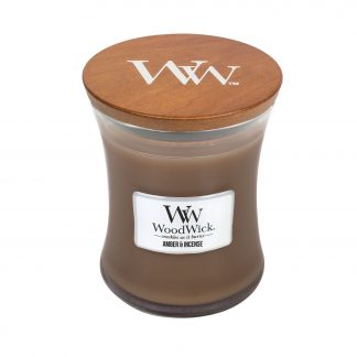 WOODWICK CANDLE - AMBER AND INCENSE