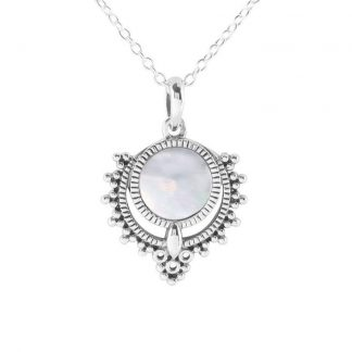 STERLING SILVER PERIYAR PEARL NECKLACE